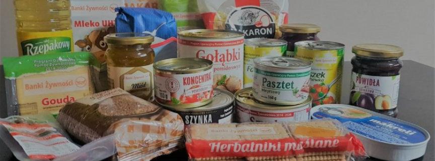 Informacja dotycząca rozpoczęcia dystrybucji żywności w ramach Programu Operacyjnego Pomoc Żywnościowa